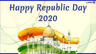 Republic Day 2020 Images & HD Wallpapers For Free Download Online: Wish Happy 71st Republic Day With WhatsApp Stickers and GIF Messages
